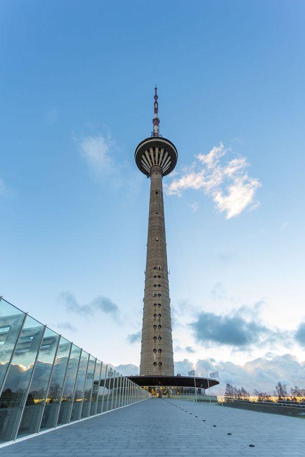 Tallinnan Teletorni pystytettiin olympialaisia varten.