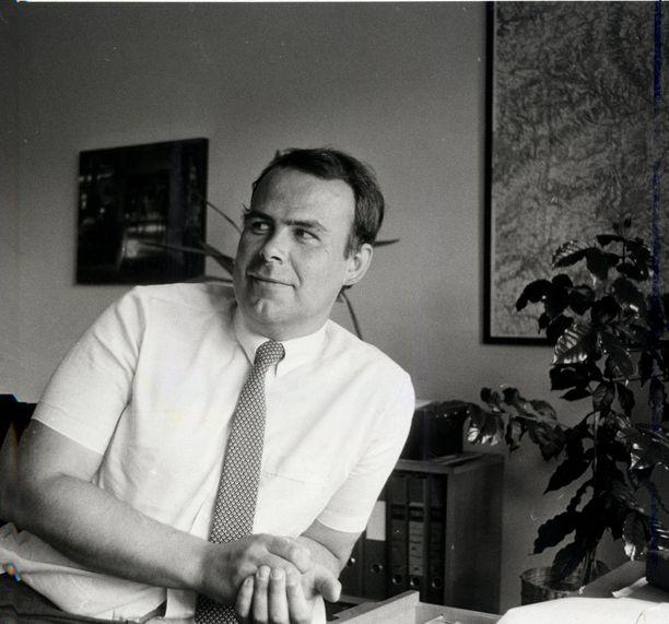 Henrik Kuningas pörssivälittäjänä 1980-luvulla.