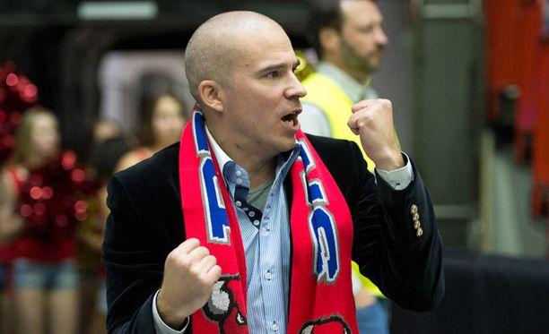 Bisonsin Eurocup-manageri Aleksi Valavuori lupaa ensi kaudeksi entistä kovemman joukkueen.