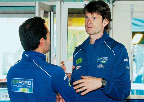 SAPETTAA Marcus Grönholmin kolmen päivän urakka Portugalissa valui lähes hukkaan.