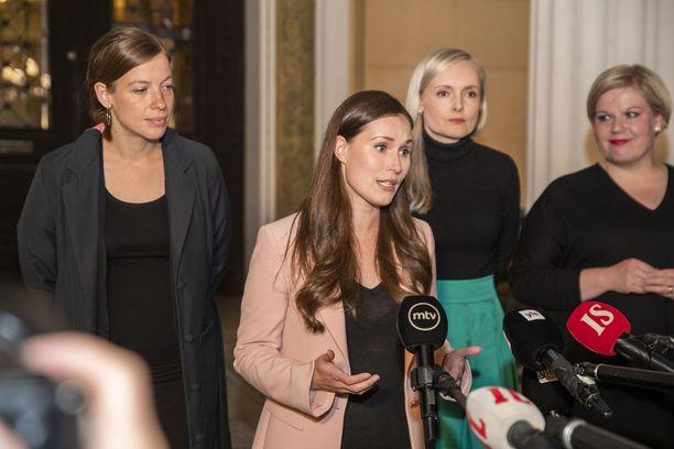 Pääministeri Marinista on tullut vihervasemmiston johtohahmo.