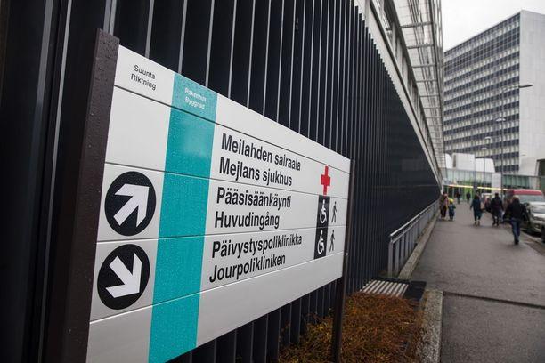 HUSilla ei ole ollut ongelmia tietojärjestelmien kanssa. Kuvassa Meilahden sairaala.