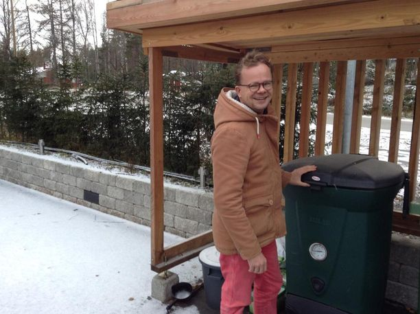 Sapattivapaalla olevan Rehon seuraava projekti on saada oma komposti toimimaan.