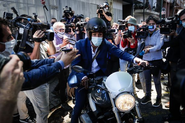 Leopoldo Luquen rajut viestit on vuodettu julkisuuteen.