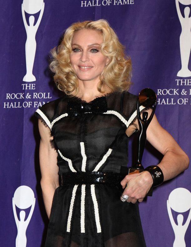 Madonna kuuluu maailman menestyneimpiin laulajiin.