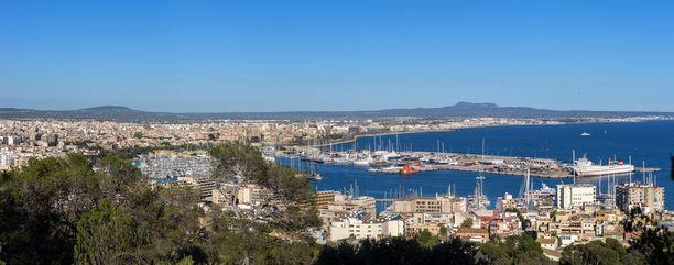 Mallorcan pääkaupunkia Palmaa on kutsuttu myös Pikku-Barcelonaksi.