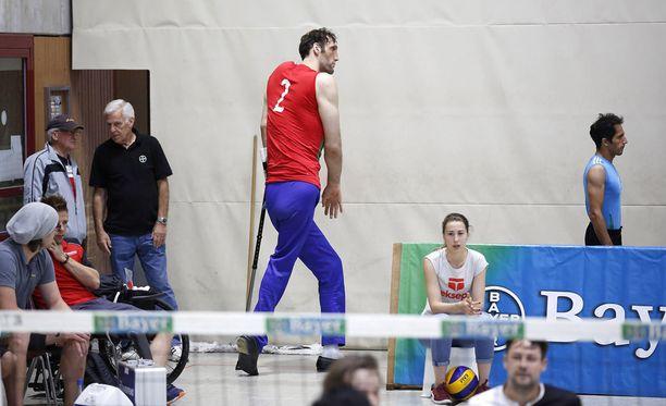 Morteza Mehrzadselakjani on Rion seuratuimpia urheilijoita.