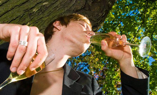 Suomalaistutkimuksessa havaittiin selviä eroja kahden eri alkoholistityypin välillä.