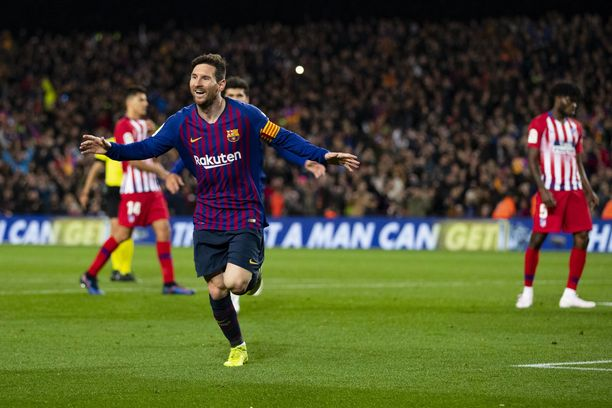 Messi on maalipaikkojen luojana omaa luokkaansa.