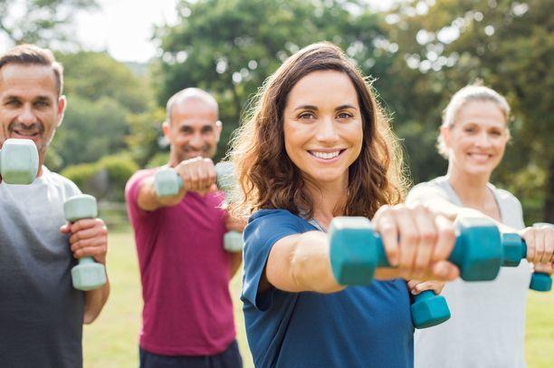 Liikunnalla on suuri merkitys luuston terveydelle.
