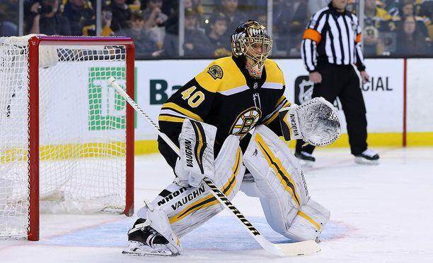 Boston Bruinsin Tuukka Rask pelasi nollapelin torjumalla 23 kertaa Tampa Bay Lightningia vastaan.