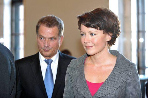 Sauli Niinistö ja Jenni Haukio menivät naimisiin vuonna 2009.