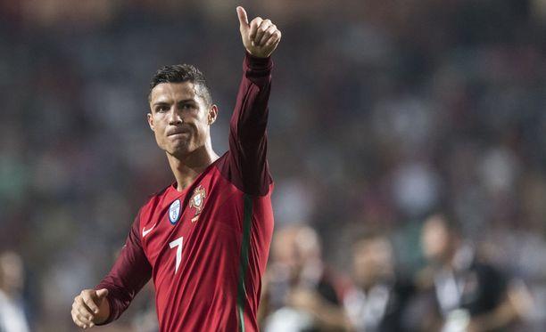 Cristiano Ronaldon Portugali pääsee futiksen MM-lopputurnaukseen.