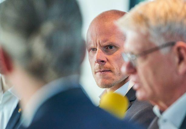Toni Söderholmin Saksa-pesti on olympiadin mittainen eli se kestää Pekingin 2022 kisoihin asti.