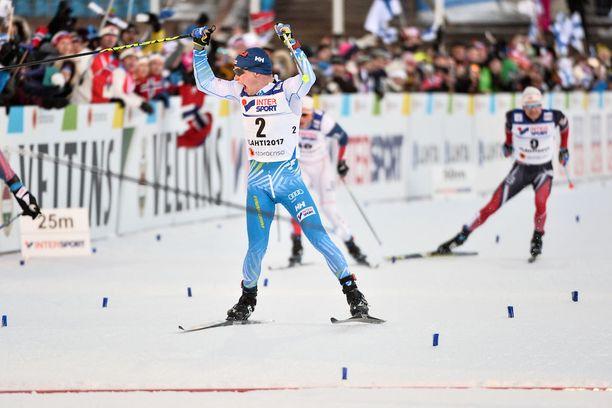 Matti Heikkinen pystyi ottamaan hieman alavireisenäkin MM-pronssia kuninkuusmatkalta.