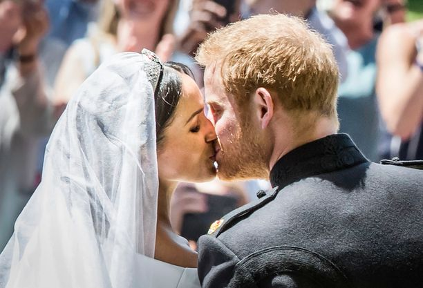 Prinssi Harry ja herttuatar Meghan menivät naimisiin näyttävästi toukokuussa 2018.