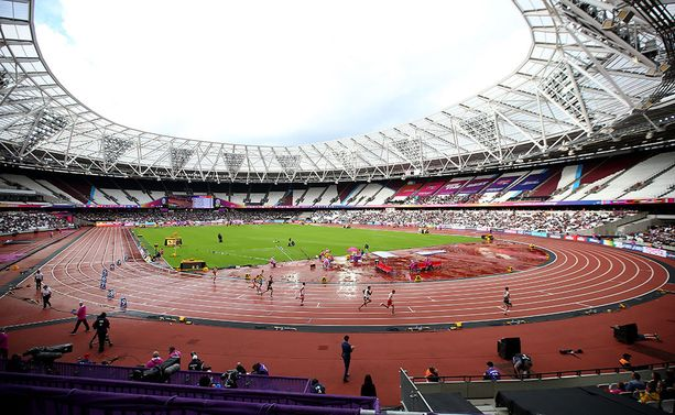 Yleisurheilun MM-kisat käydään Lontoon olympiastadionilla.