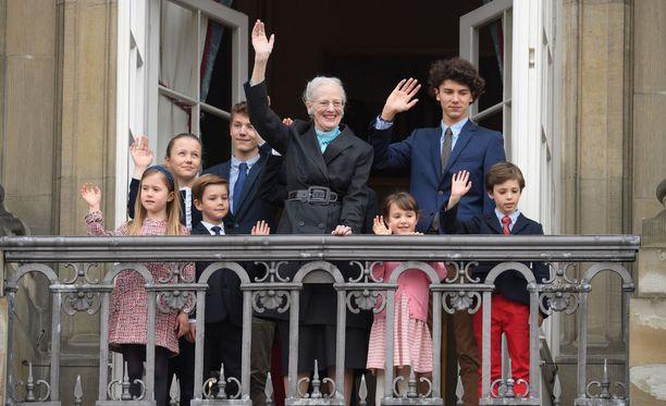Kuningatarta on juhlittu tänään Tanskassa.