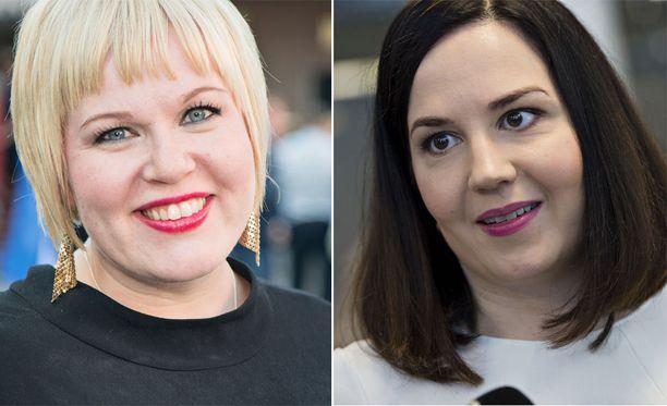 Ministerit Annika Saarikko ja Sanni Grahn-Laasonen ovat eri mieltä siitä, mihin perhevapaauudistus kaatui.