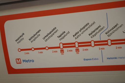 Länsimetro toi Espooseen ja Helsinkiin yhteensä kahdeksan uutta metroasemaa.