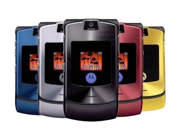 Motorolan RAZR V3 on maailman myydyin simpukkapuhelin.