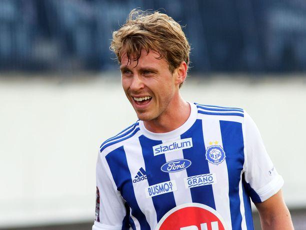 Rasmus Schüllerin ura jatkuu Tukholmassa.