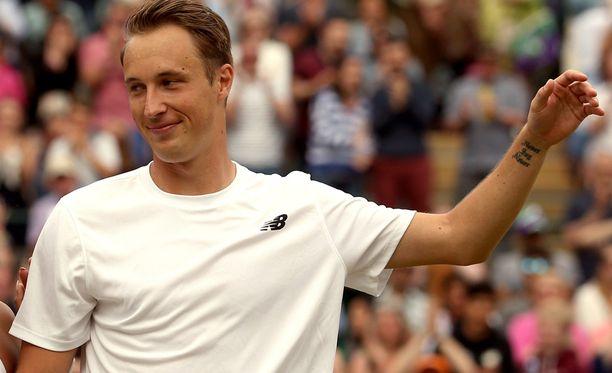 Henri Kontisen kolmas perättäinen turnausvoitto jäi haaveeksi.