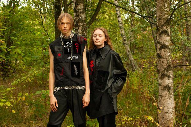 Emma Saarnion innoitteena toimi Eino Leinon runo Nocturne.