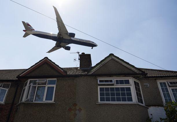 Lentoyhtiö British Airways on yksi Britannian tärkeimmistä yrityksistä.