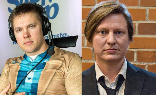 Juha Perälä ja Jaajo Linnonmaa eivät loukanneet yrittäjän kunniaa.