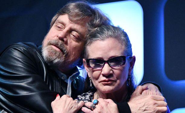 Hamill ja Fisher näyttelivät myös uusissa Tähtien sota -elokuvissa.