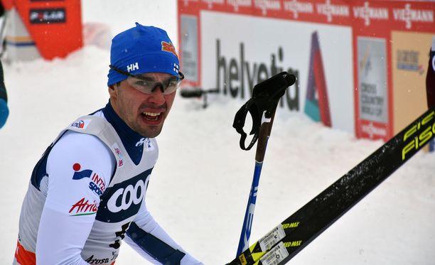 Ristomatti Hakola oli neljäs Tour de Skin avanneessa sprintissä.