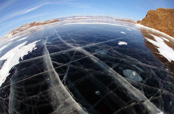 Baikaljärvi, Venäjän Siperia.