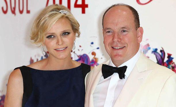 Charlene ja Albert vihittiin vuonna 2011.