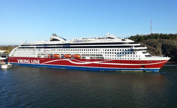 Viking Grace saapui Ahvenanmaalle vain 15 minuuttia myöhässä.