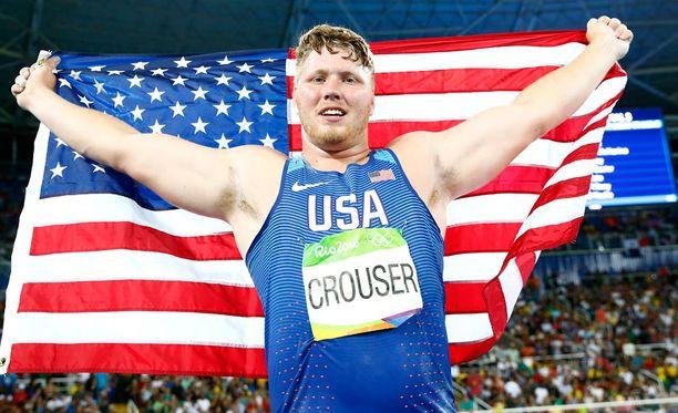 Riossa dominoivaan tapaan esiintynyt Ryan Crouser on kuulantyönnön tulevaisuus.