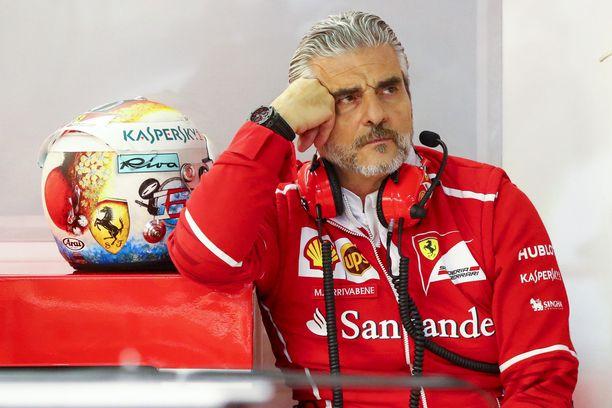 Vaihtaako Maurizio Arrivabene Ferrarin punaisen Vanhan rouvan mustavalkoisiin väreihin.