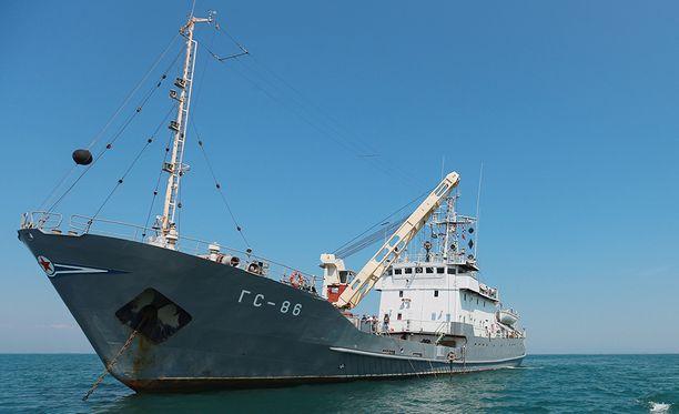Aluksen GPS-navigaattori väitti sen olevan 32 kilometrin päässä todellisesta sijainnista.