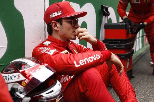 Charles Leclerc voitti kaukalopikaluistelutähden Kiinassa.