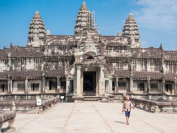 Angkor Watia ylistetään Tripadvisorissa maailman nähtävyyksistä eniten.