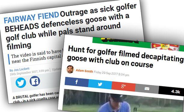 Kymmenet tiedotusvälineet ympäri maailmaa ovat uutisoineet Vantaan Golfpuiston tapahtumista.