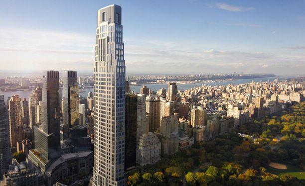 Tornirakennuksen on suunnitellut Robert A.M. Stern ja siinä on 79 kerrosta.