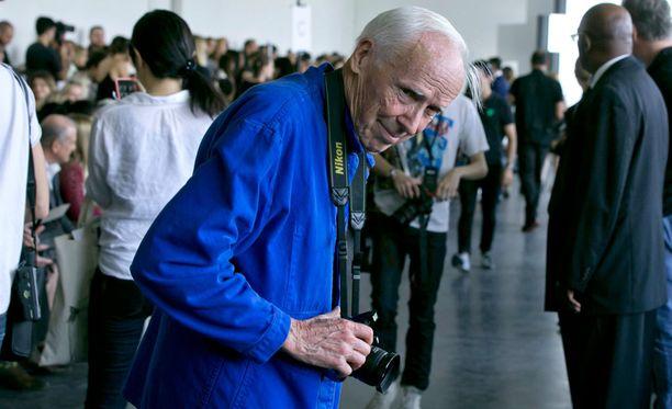 Bill Cunningham keräsi mainetta New Yorkin kaduilla tavallisista ihmisistä ottamillaan kuvilla.