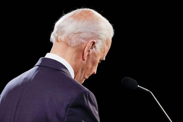 Ennen viime torstaita Bidenin vaalikampanjointi sujui erheettä.