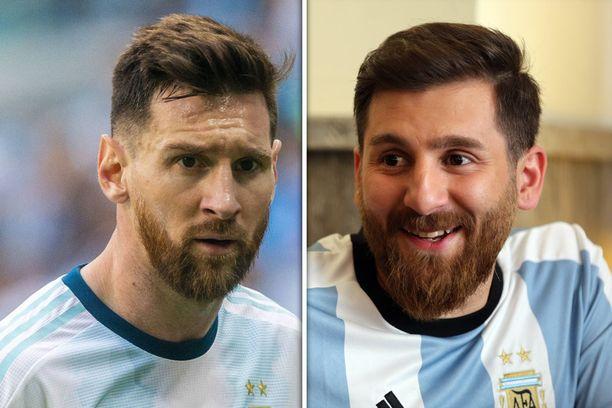 Kuin ilmetty kaksoisolento! Lionel Messiä matkiva iranilaismies joutui nyt ikävään kohuun.