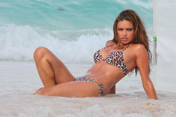 Adriana Lima on tehnyt 20-vuotisen uran Victoria's Secret -alusvaatemerkin mallina.
