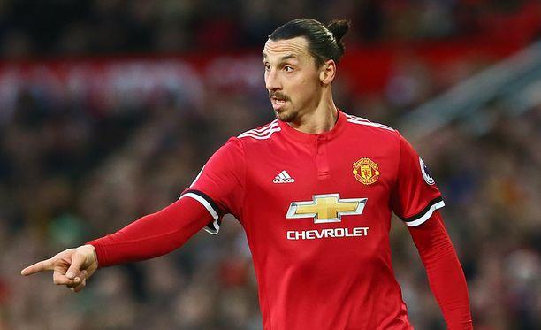 Zlatan Ibrahimovic ei ole ollut tutussa vireessä tällä kaudella.