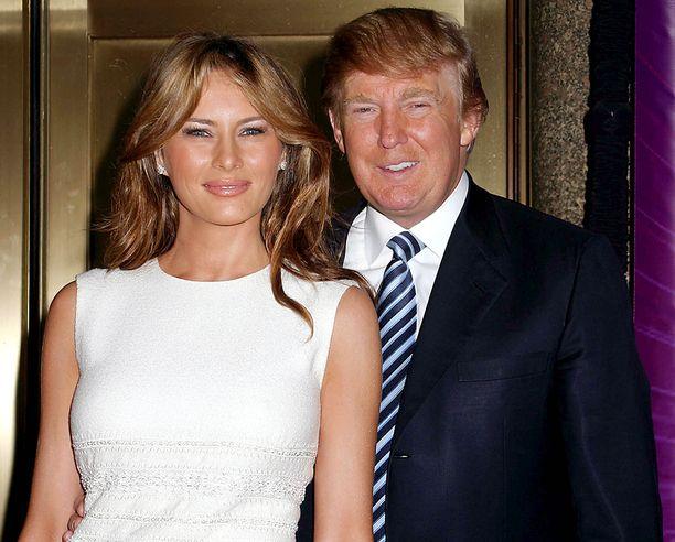 Melania Knauss ja Donald Trump alkoivat seurustella vuonna 1998.