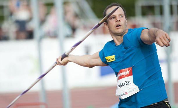 Tero Pitkämäki kantaa harteillaan valtavia menestyspaineita suomalaisesta yleisurheilusta.