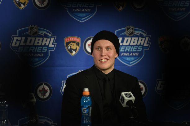 Patrik Laine ja Winnipeg Jets pelasivat kaksi NHL-ottelua Suomessa.